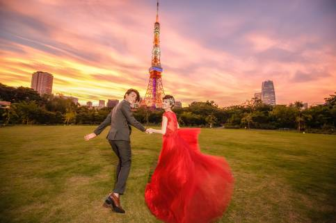 『海外婚紗』東京婚紗  家倫 & 八萬  Pre-Wedding  海外婚紗攝影