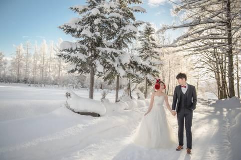『北海道婚紗』 語凡 &  怡伶  Pre-Wedding  海外婚紗攝影  搶先看..