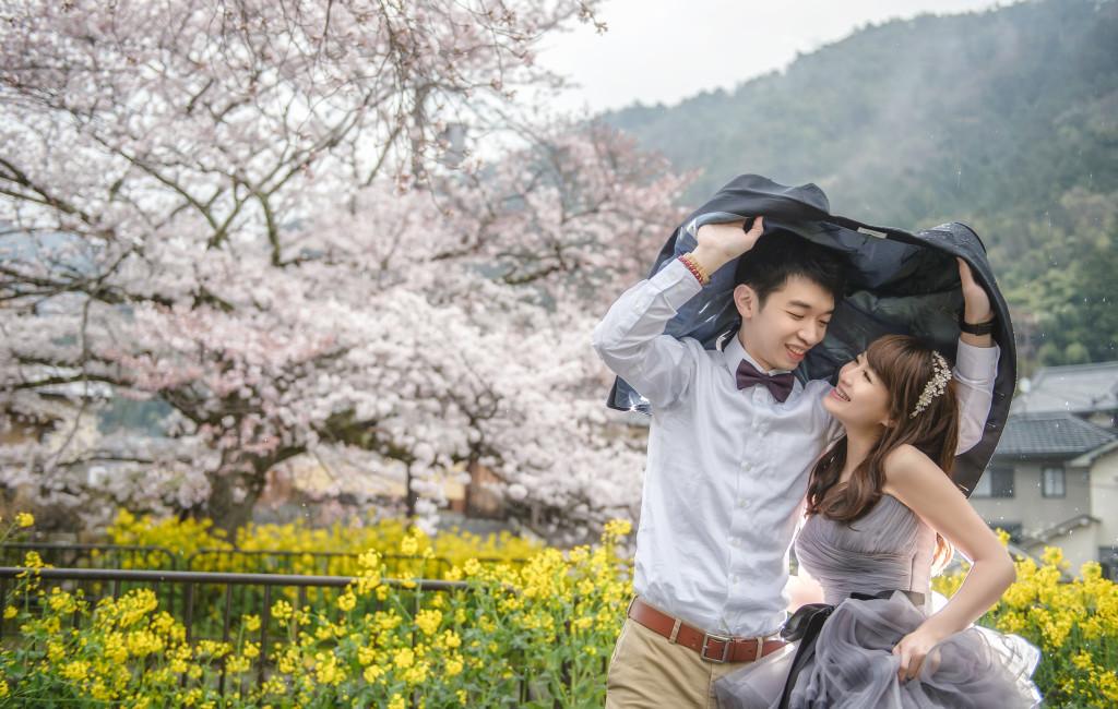 『京都櫻花婚紗』 燿州 & 佩妤  Pre-Wedding  海外婚紗攝影  搶先看..