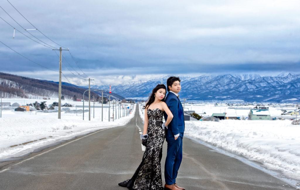 逸昇&雅玲 北海道婚紗 Pre-Wedding  海外婚紗拍攝