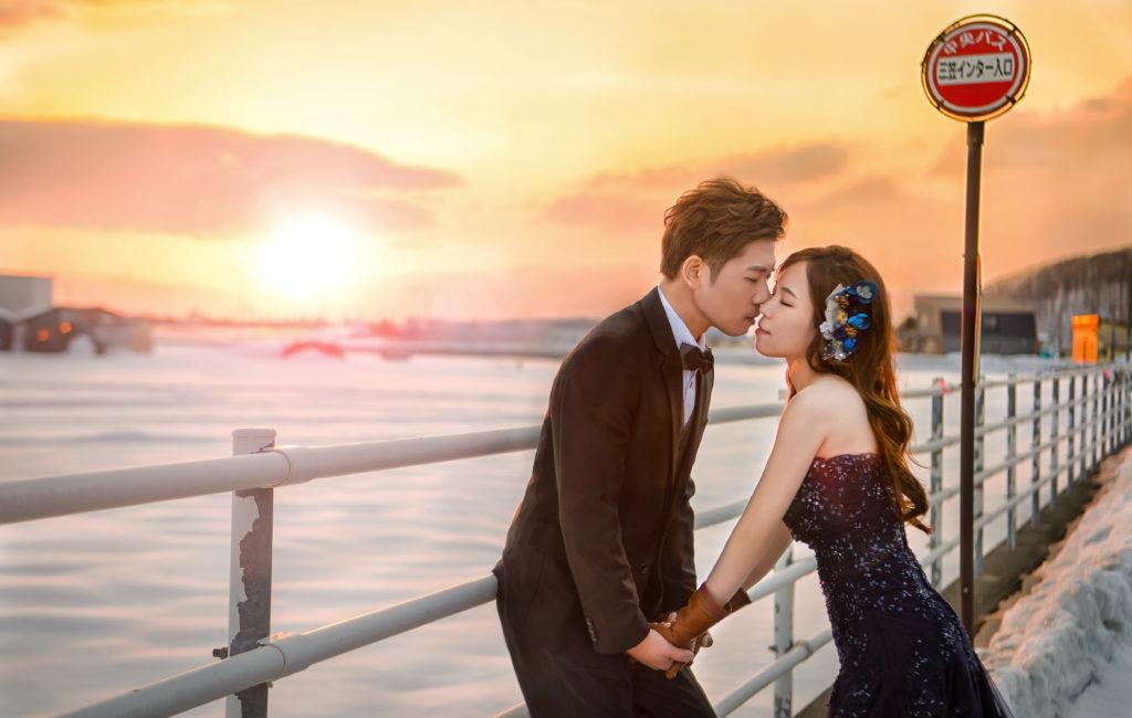 弘文 & 靖霓 北海道婚紗 Pre-Wedding  海外婚紗拍攝