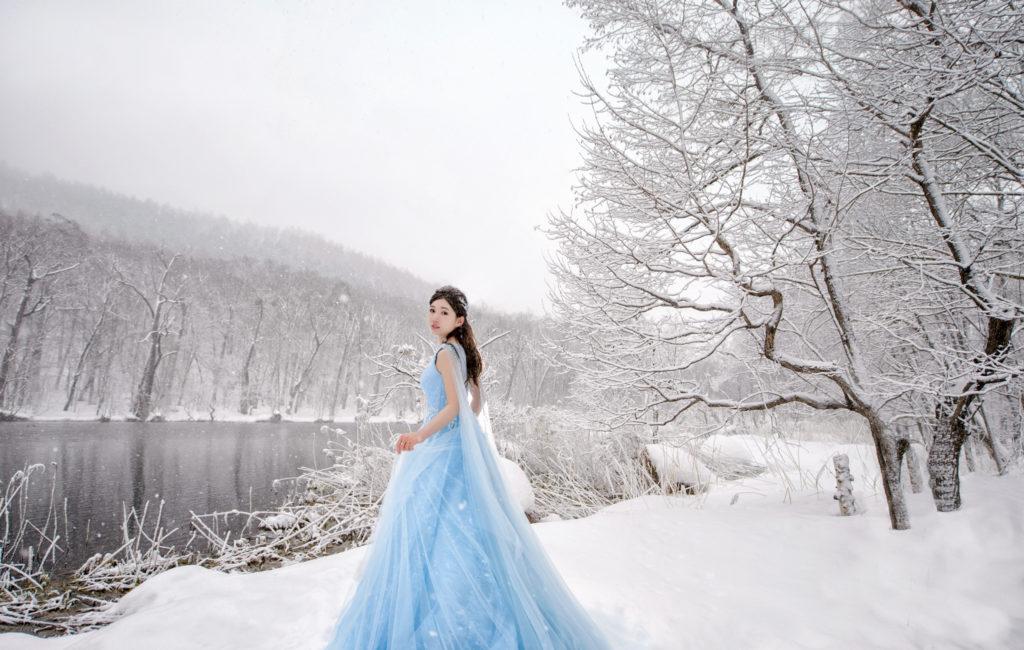 Winnie & 美峰 北海道婚紗 Pre-Wedding  海外婚紗拍攝